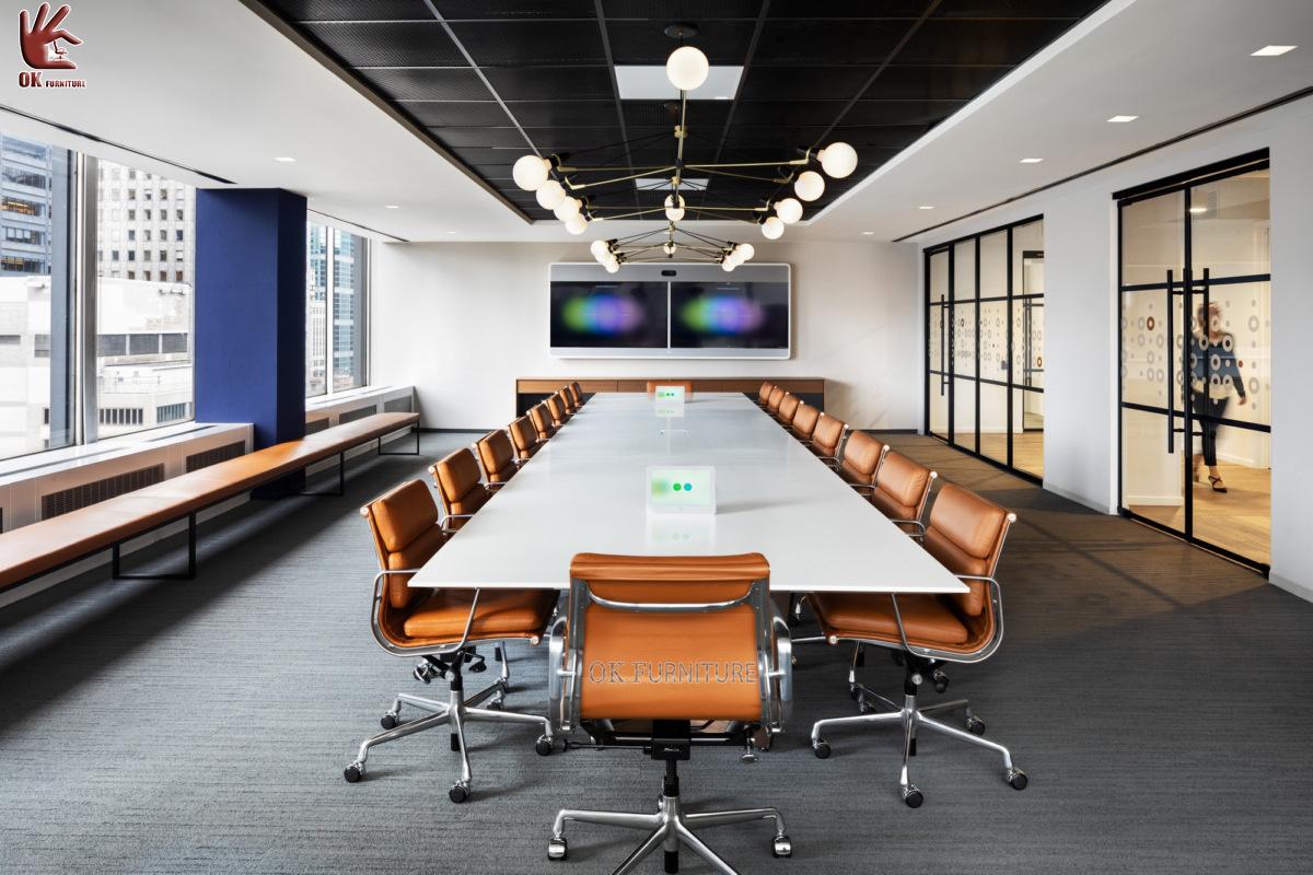 thiết kế nội thất phòng họp nâng cao hình ảnh doanh nghiệp