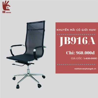 Ghế chân xoay văn phòng JB916A