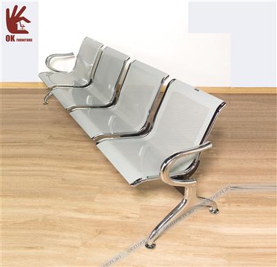 Băng ghế chờ 5 cái PP009-5, 175x65x79cm