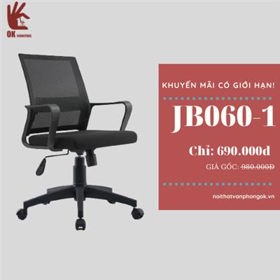 Ghế văn phòng JBJ060_đen
