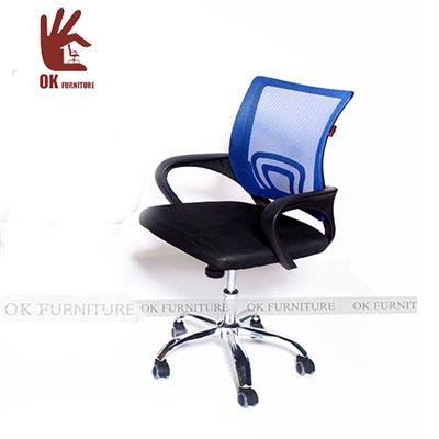 Ghế xoay văn phòng- Model JB625B xanh